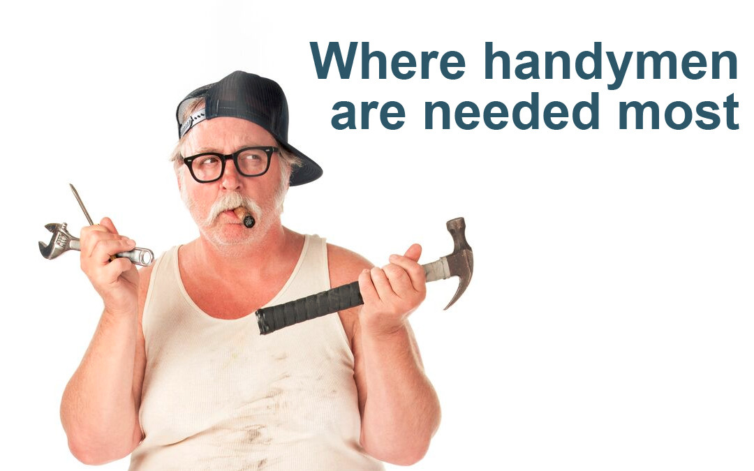 Where the handyman is in the most demand jobflex Handyman cost estimator software