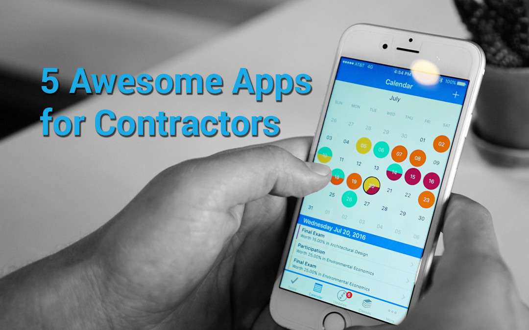 5 Awesome Apps for Contractors