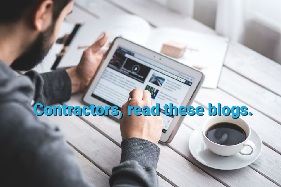 10 Exceptional Contractor Blogs